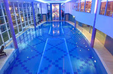 An example of A De Cecco's technical expertise with a stunning swimming pool project completed at the exclusive Stobo Castle. (photograph)